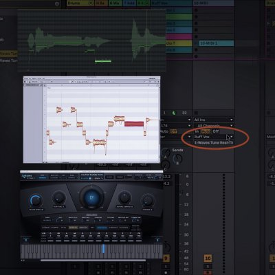 Experimenting with Vocal Melodies using plugins and Midi