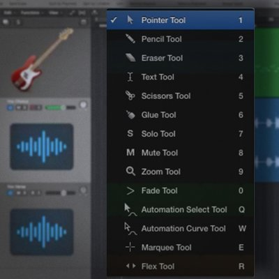 How To Avoid The Tool Menu In Logic Pro X