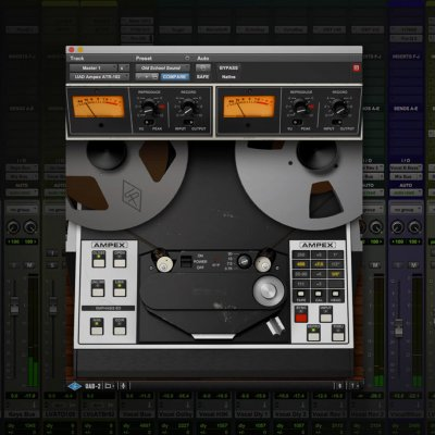 Jacquire King Using The UAD Ampex ATR-102 On the Mix Bus