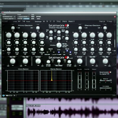 M/S EQ During Mastering With Fab Dupont