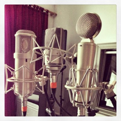 Mic Shootouts for Vocal Recordings