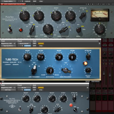 Pultec Plugin Shootout