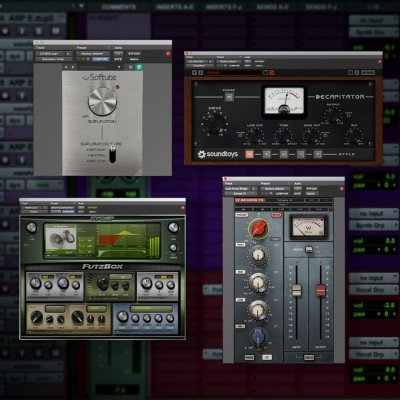 Tony Maserati Adding Saturation To The Lead Vocal