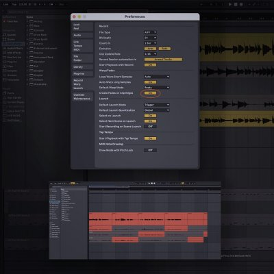 Using Track Lanes in Ableton Live 11