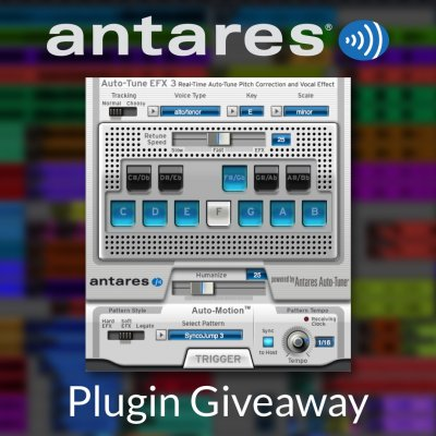 Antares Auto-Tune EFX 3 Giveaway