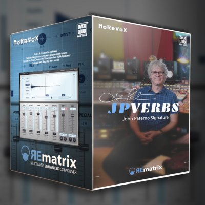 John Paterno Signature Reverbs & REmatrix Plugin