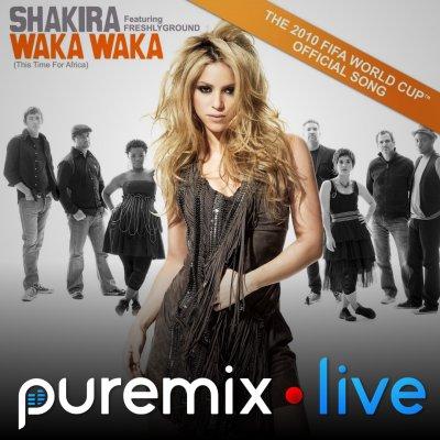 Fab Dupont Mixing Shakira 'Waka Waka'