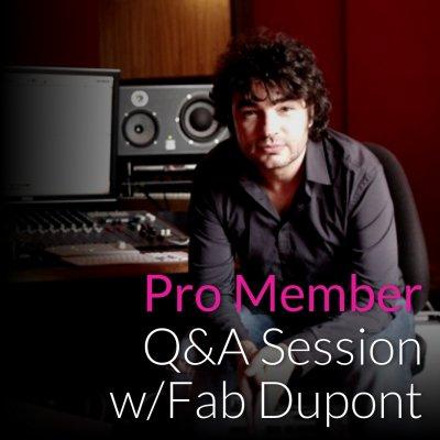 Fab Dupont Q&A Session