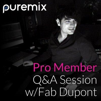 Fab Dupont December 2017 Q&A