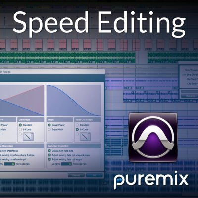 Speed Editing in Pro Tools October 2017