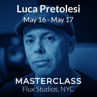 Luca Pretolesi May 16 - May 17 2020