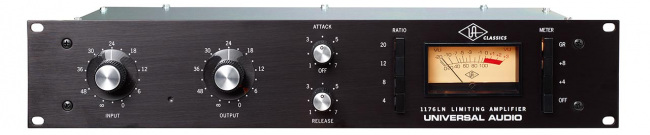 Blackface Universal Audio 1176LN Rev C, D and E