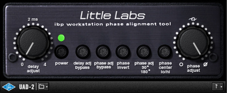 Little Labs Phase Alignment Tool by UAD