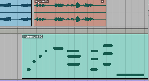 Look at that. There's MIDI!