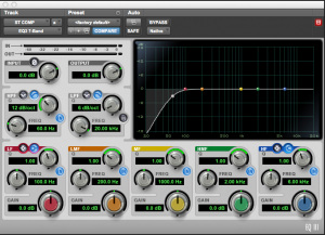 Parallel Compression Bus EQ