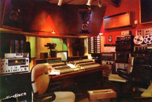 90's Studio Control Room