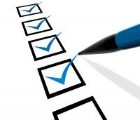 Mixing Checklist