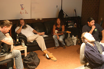Metallica with Rick Rubin