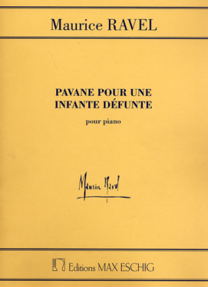Ravel Pavane pour une ingante defunte