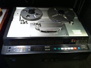 Chris Lord-Alge First Sony Tape Machine