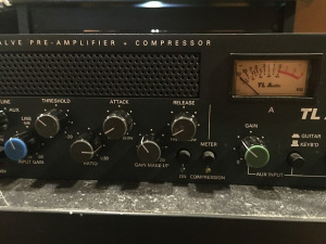 Andrew Scheps first piece of Pro Gear TL Audio C-1 Dual Mix Pre