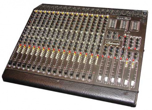 Studiomaster 16 Console that was Fab Dupont's First Pro piece of gear