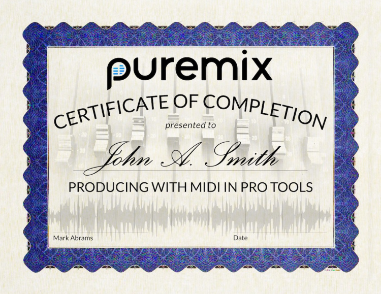Pro Tools MIDI Production