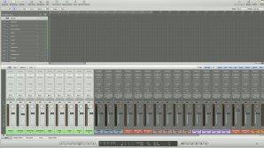 Analog Summing: Logic Session Setup