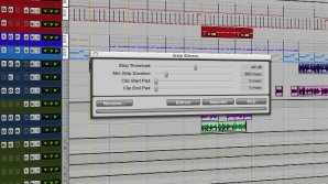 Pro Tools: Strip Silence