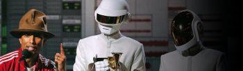 Mick Guzausky Mixing Pharell and Daft Punk