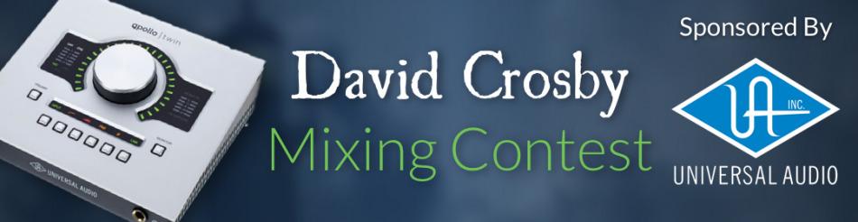 Free Mixing Contest - David Crosby | pureMix net