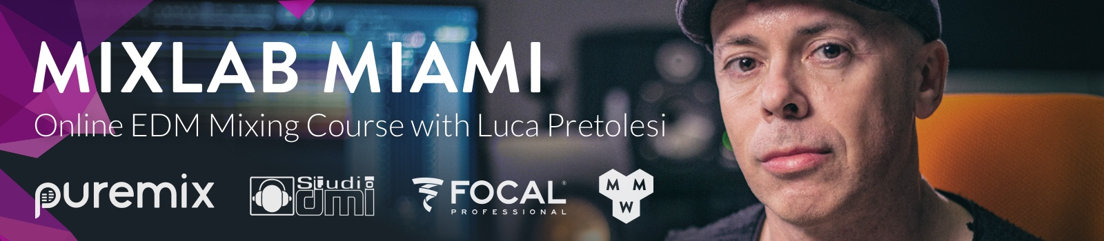 MixLab Miami - Online EDM Mixing Course with Luca Pretolesi