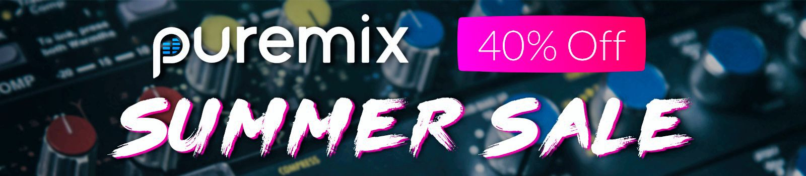 pureMix Summer Sale - Save 40% on Pro Memberships and get everything pureMix has to offer!