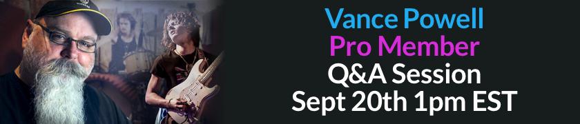 Vance Powell Q&A Sept 20 1pmest