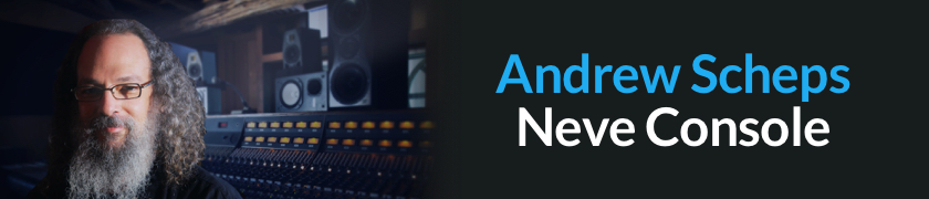 Andrew Scheps Neve Console