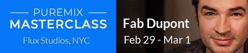 Fab Dupont Masterclass