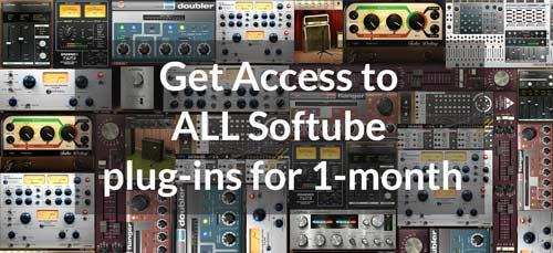 softube volume1 plug-ins